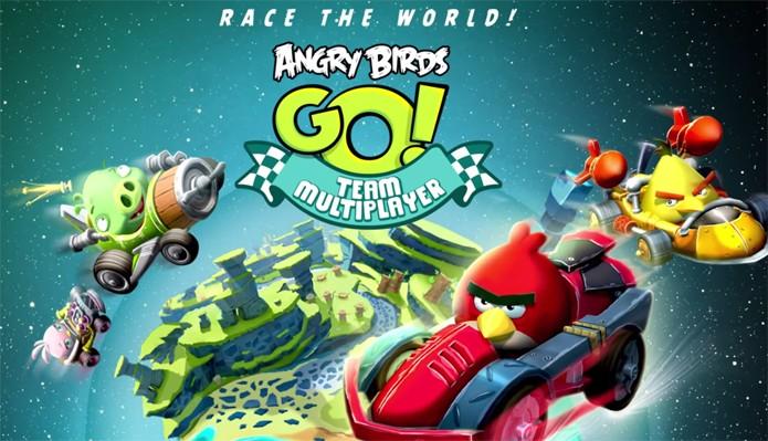 Angry Birds Go recebe multiplayer (Foto: Divulgação)