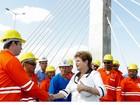 'Não é correto pedagiar estradas em zona urbana', diz Dilma