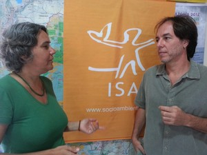 Ativistas do Isa reforçam necessidade de ações de combate ao garimpo (Foto: Vanessa Lima/G1)