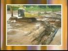 Chuva interdita estradas da região de Santa Maria da Serra, SP