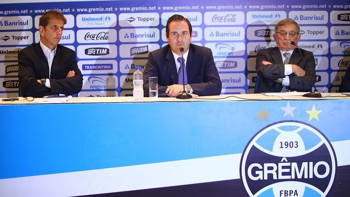 Geraldo Corrêa, novo presidente da Arena Porto Alegrense (Foto: Lucas Uebel / Grêmio, DVG)
