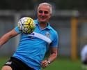 """Dorival prevê titulares em """"treino de excelente nível"""" contra o Benfica"""