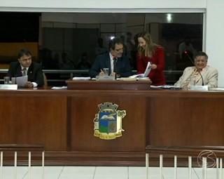 E ai vereador? na Câmara de Paty do Alferes (Foto: Reprodução: RJTV 1ª Edição)