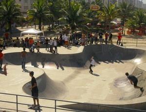 Skatistas de Praia Grande disputam a 11ª etapa do Circuito Sampa Skate (Foto: Alexandra Giulietti / Prefeitura Municipal de Praia Grande)