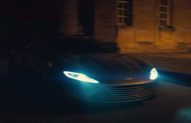 """Aston Martin DB10 no trailer de """"007 contra Spectre"""" (Foto: Reprodução)"""