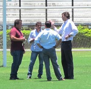 Visita Fifa São  Januário Vasco (Foto: Gustavo Roststein)
