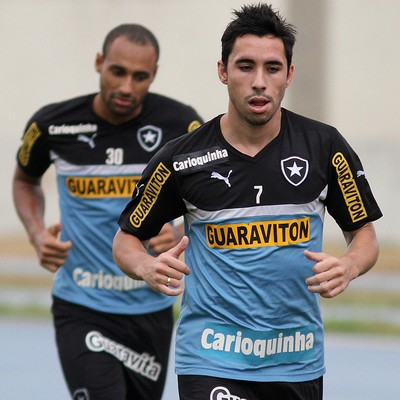 Maikon, atacante do Botafogo (Foto: Vitor Silva / SS Press)