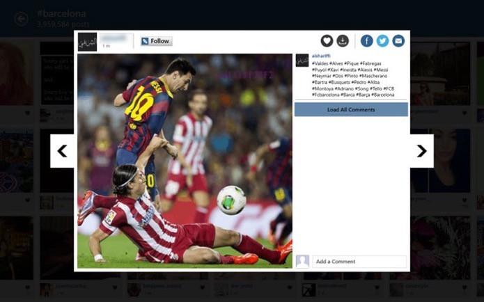 Visualize as fotos do Instagram em seu computador