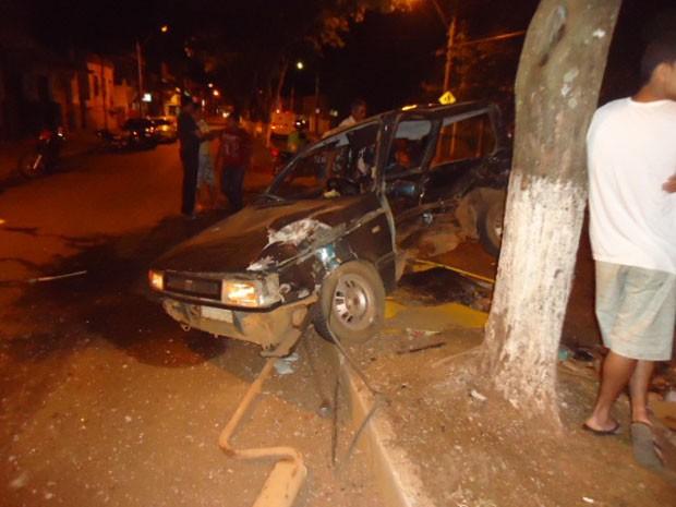 Acidente com motorista embriagado deixa morte em Nepomuceno (Foto: Polícia Militar)