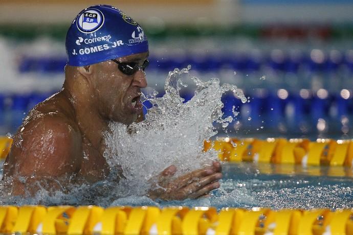 João Gomes Junior competindo no Troféu José Finkel (Foto: Divulgação/CBDA)