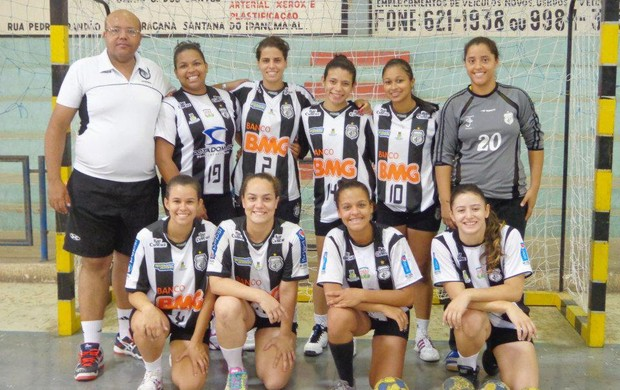 Time de handebol feminino do Treze (Foto: Divulgação / Treze)