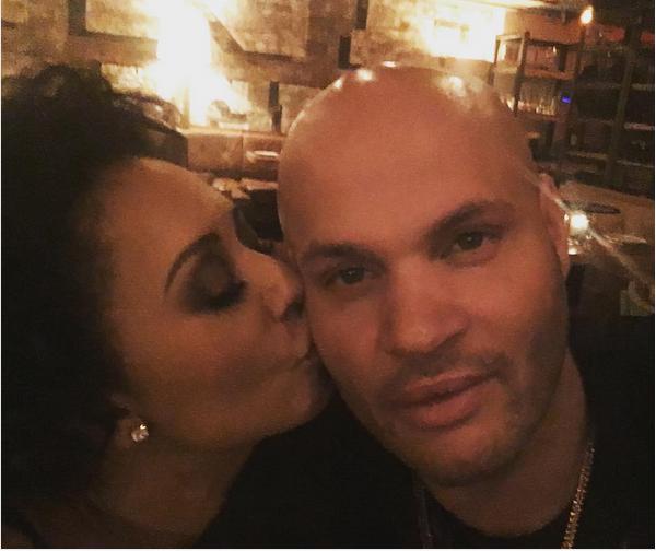 A cantora Mel B e o ex-marido, Stephen Belafonte (Foto: Instagram)