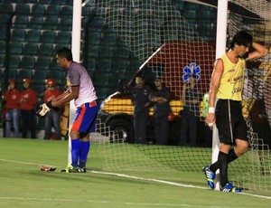 Darlan e Gato Figueirense x Plácido de Castro (Foto: Luiz Henrique/Figueirense FC)