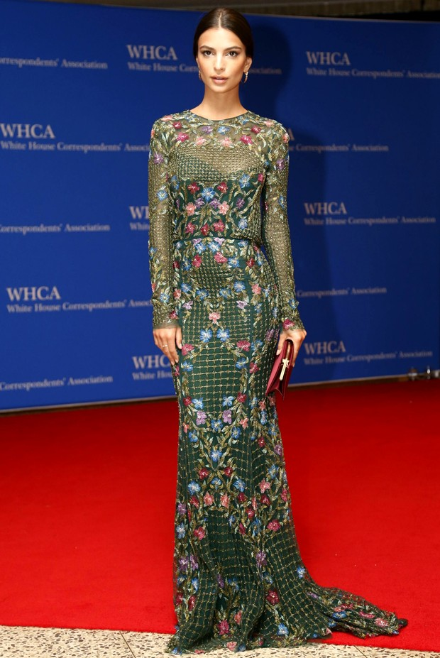 White House Correspondent's Dinner - Emily Ratajkowski (Foto: Getty Images)