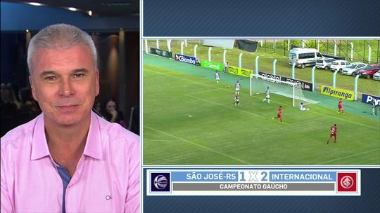 """""""Entra e vira titular"""", diz Saraiva sobre contratação de Edenílson pelo Inter"""