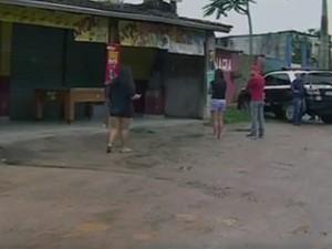 Chacina em Caraguatatuba (Foto: Reprodução/ TV Vanguarda)