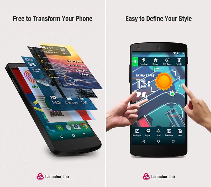 Launcher Lab é mais uma opção de launcher para o Android (Foto: Divulgação)