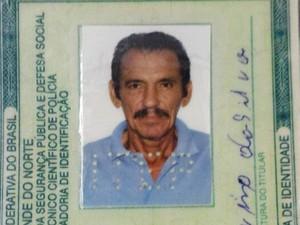 José Etelvino da Silva completaria 68 anos no dia 7 de maio (Foto: PM/Divulgação)