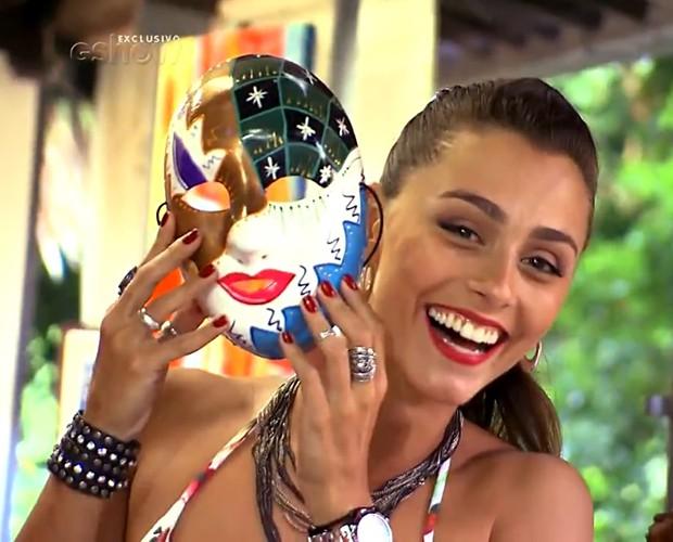 Luiza Módolo viajou por Pernambuco atrás de belas mulheres (Foto: Gshow)