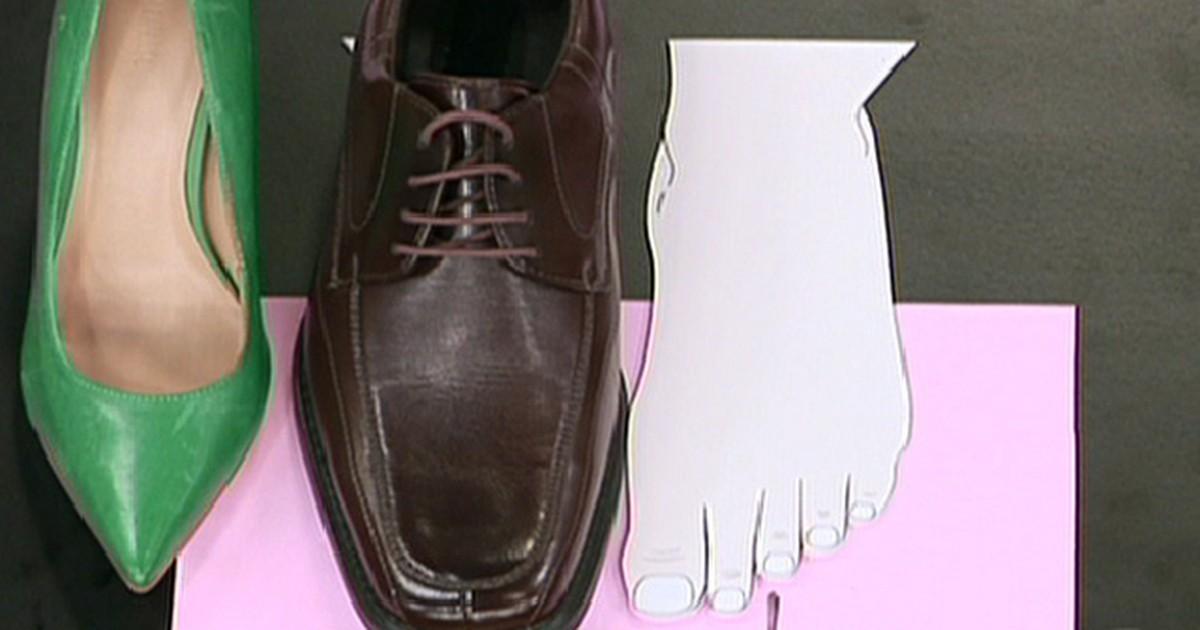 0d437e4dd1 Bem Estar - Joanete pode surgir ou piorar com o uso de sapatos de salto e  bico fino