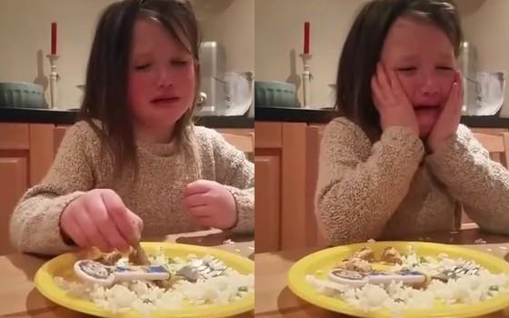 A pequena vegetariana que conquistou o coração da internet (Foto: Reprodução/Facebook)