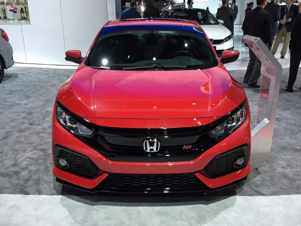 Conceito do novo Honda Civic Si (Foto: Rafael Miotto / G1)