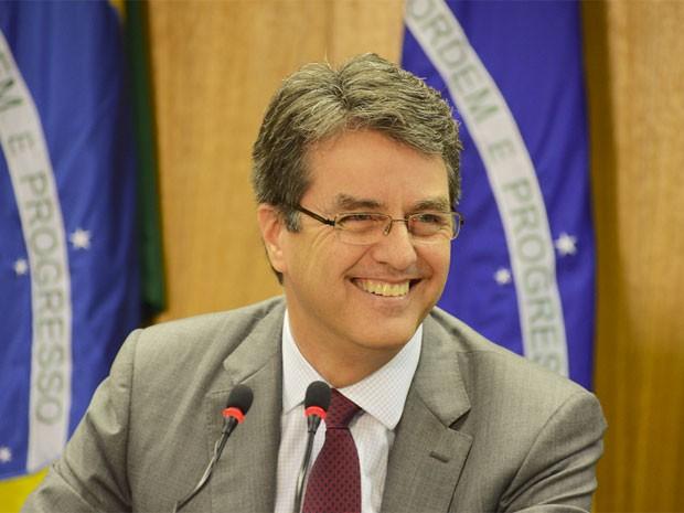 Embaixador Roberto Azevêdo, escolhido para a direção-geral da OMC (Foto: Gustavo Ferreira / MRE)