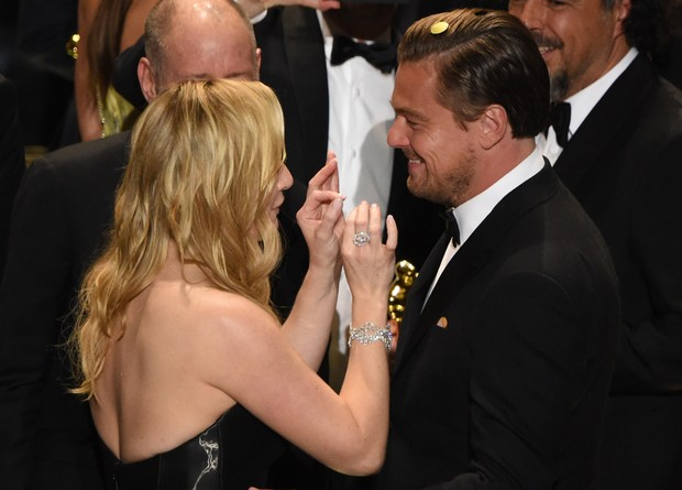 Kate Winslet e Leonardo DiCaprio (Foto: Getty Images)