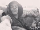 Ricky Martin posta foto fofa com os filhos: 'Dorminhocos'