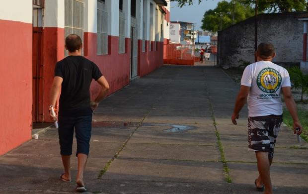 Fabinho pediu para sair do Sergipe (Foto: Felipe Martins/GLOBOESPORTE.COM)