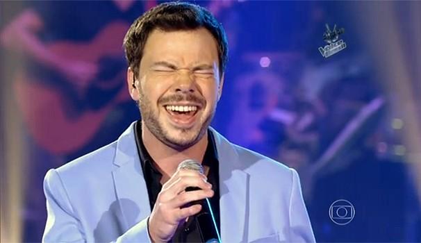 The Voice Gustavo Trebien (Foto: Reprodução/ The Voice Brasil / TV  Globo)