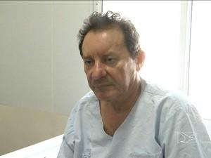 Prefeito do Codó (MA)mZito Rolim (PV), após acidente em ponte (Foto: Reprodução/TV Mirante)