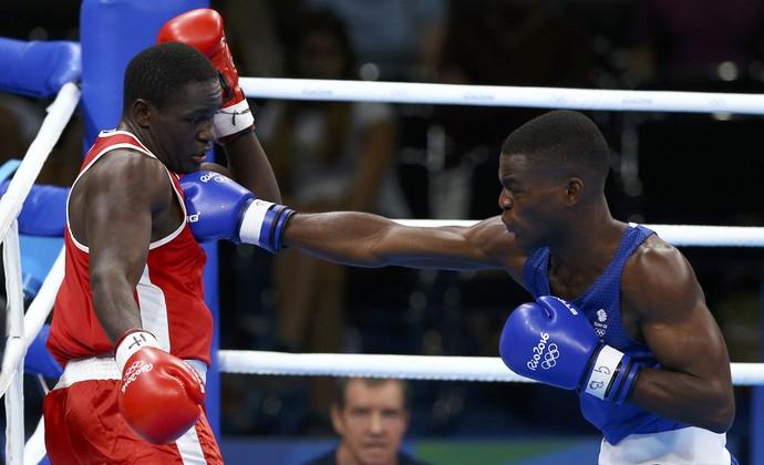 Joshua Buatsi boxe Olimpíada Rio 2016 (Foto: Peter Cziborra/Reuters)