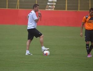 Vagner Mancini, treino do Vitória (Foto: Divulgação / EC Vitória)