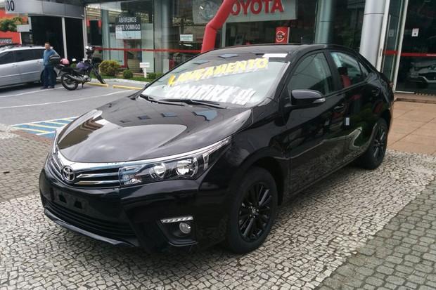 Flagramos o novo Toyota Corolla Dynamic (Foto: Alexandre Izo / Autoesporte)