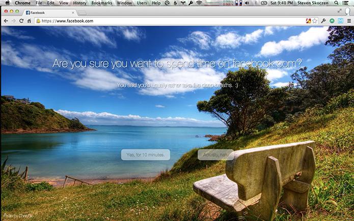 Mindful Browsing pode ser usado no Chrome e Safari para Windows ou Mac OS (Foto: Reprodução/Elson de Souza)