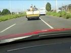 Transporte irregular deixa passageiros em risco em rodovias e ruas do país