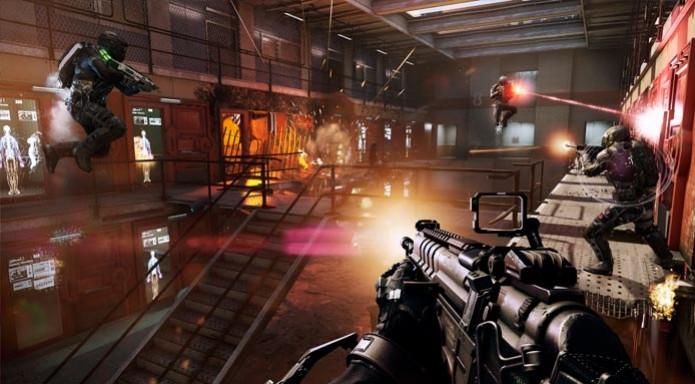 """Call of Duty: Advanced Warfare pode levar o prêmio de """"Melhor jogo de tiro"""" (Foto: Divulgação) (Foto: Call of Duty: Advanced Warfare pode levar o prêmio de """"Melhor jogo de tiro"""" (Foto: Divulgação))"""