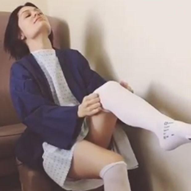 Jessie J antes de operação (Foto: Instagram/ Reprodução)