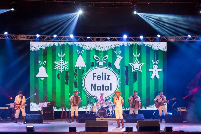 Tchê Guri, Especial de Natal, Galpão Crioulo (Foto: Maicon Hinrichsen/Divulgação RBS TV)