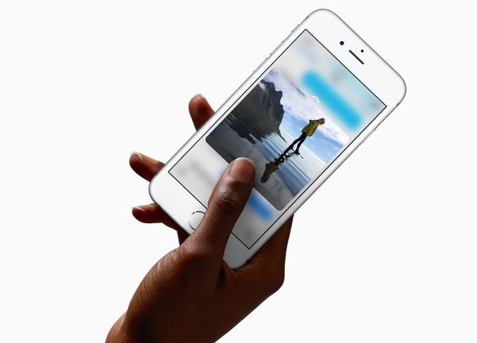 iPhone 6s possui atalhos que podem ser executados a partir da força aplicada na tela (Foto: Divulgação/Apple)