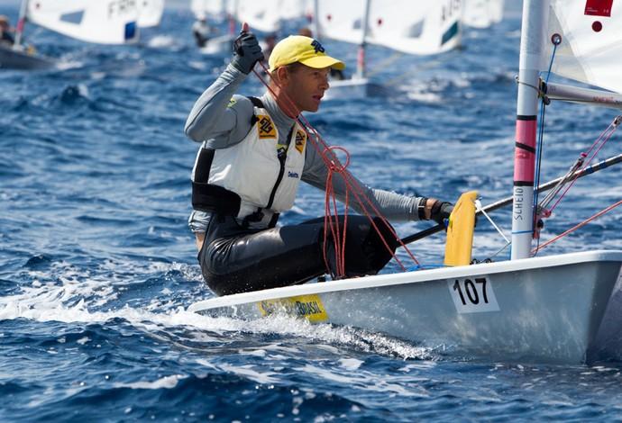 Robert Scheidt: final frustrante na etapa da Copa do Mundo de vela em Miami, nos EUA (Foto: Thom Touw)