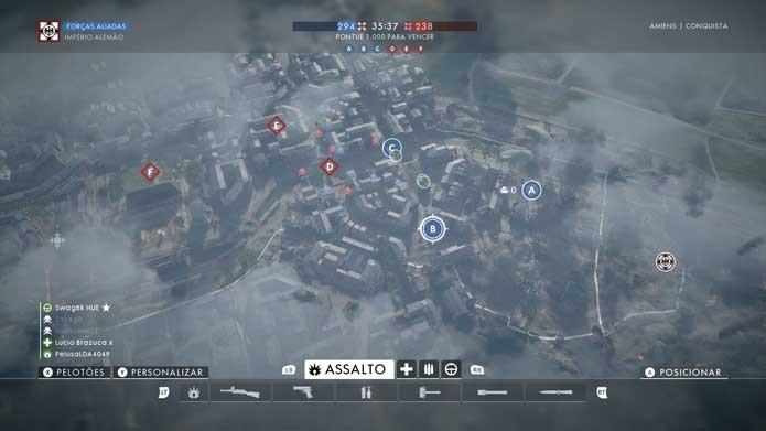 Battlefield 1: como comprar armas e personalizar as classes do jogo (Foto: Reprodução/Murilo Molina)