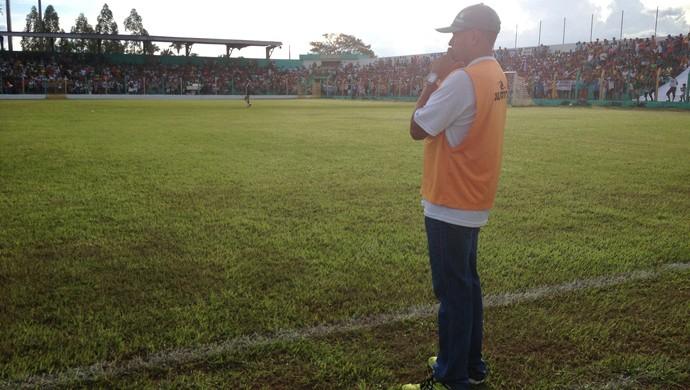 Técnico Neto Costa é campeão Tocantinense pelo Verdão do Norte  (Foto: Vilma Nascimento/GloboEsporte.com)