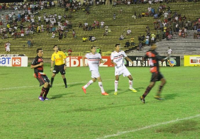Lucas Bacelar, River-PI (Foto: Antônio Fontes/GloboEsporte.com)