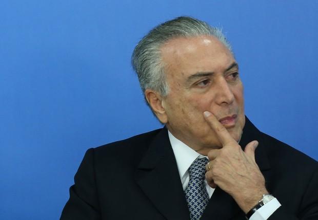 O presidente em exercício Michel Temer participa de reunião com líderes empresariais (Foto: Lula Marques/Agência PT)