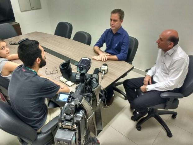 Maia conversou com o G1 nesta segunda-feira (31) (Foto: Honorio Silva/RPC)