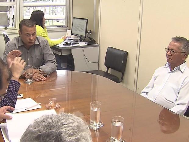 Raimundo expôs sua versão dos fatos em depoimento (Foto: Reprodução/ TV Tribuna)