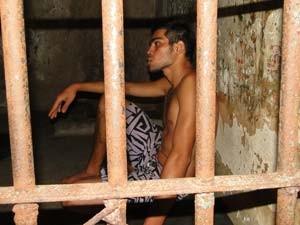 Alisson Bruno de Araújo assumiu tentativa de homicídio contra mendigo em Natal (Foto: Rafael Barbosa/G1)