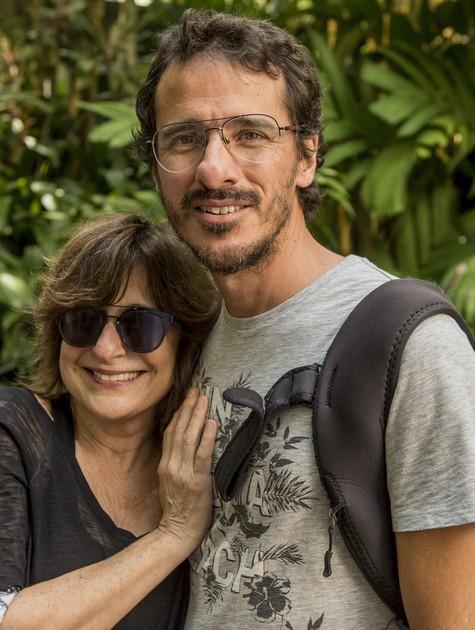 Eugenia Moreyra e Rodrigo Cebrian (Foto: João Cotta/ TV Globo)